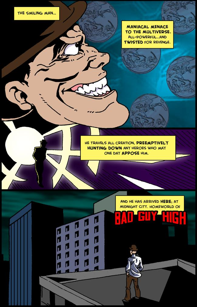 Bad Guy High Adventures - Issue 1, Page 1