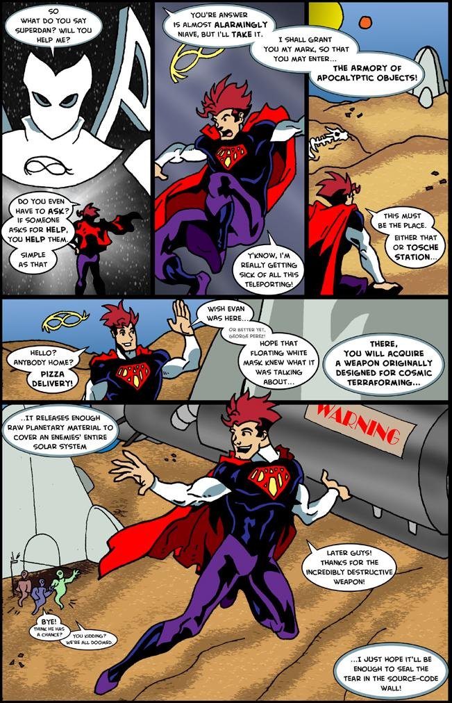 Bad Guy High Adventures - Issue 1, Page 7