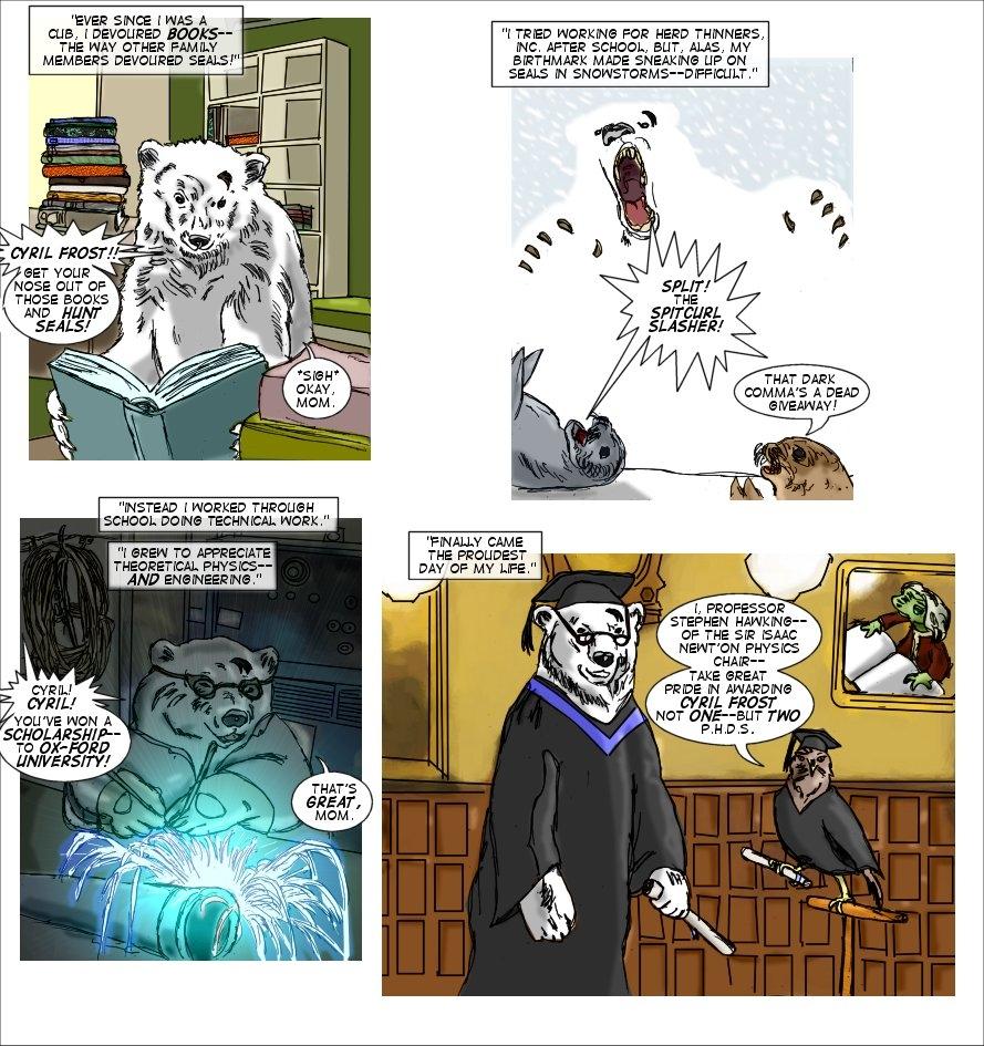 Interlude: Frostbitten's Origin - Page 1