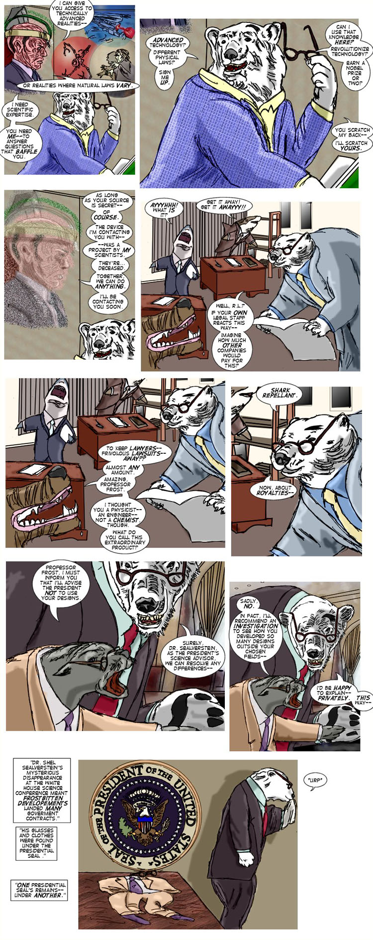 Interlude: Frostbitten's Origin - Page 3